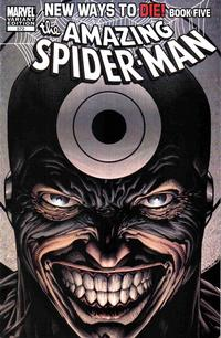 Cover Thumbnail for The Amazing Spider-Man (Marvel, 1999 series) #572 [Variant Edition]