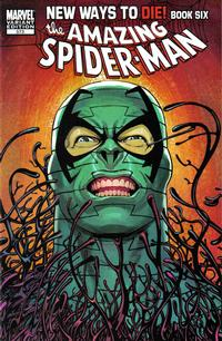 Cover Thumbnail for The Amazing Spider-Man (Marvel, 1999 series) #573 [Kevin Maguire Variant Cover]
