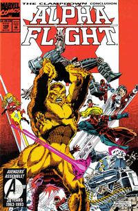 Cover Thumbnail for Alpha Flight (Marvel, 1983 series) #120