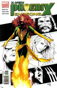 Cover Thumbnail for X-Men: Phoenix - Endsong (Marvel, 2005 series) #2 [Second Printing/Limited Edition]