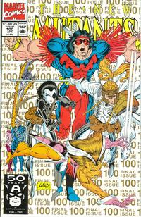 "Cover Thumbnail for The New Mutants (Marvel, 1983 series) #100 [2nd Printing ""Gold""]"