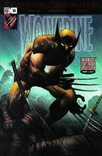 Cover Thumbnail for Wolverine (Marvel, 2003 series) #20 [Brown Costume Variant]
