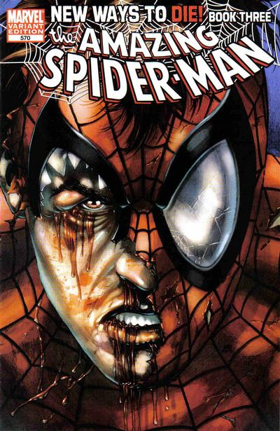 Cover for The Amazing Spider-Man (Marvel, 1999 series) #570
