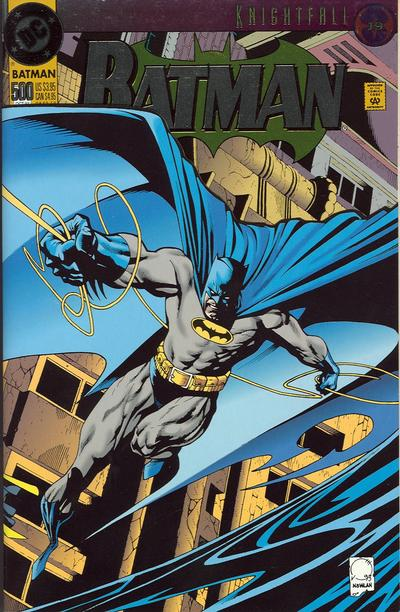 Cover for Batman (1940 series) #500 [Special edition Jean-Paul Valley as Batman]