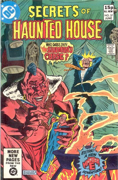 Cover for Secrets of Haunted House (1975 series) #37