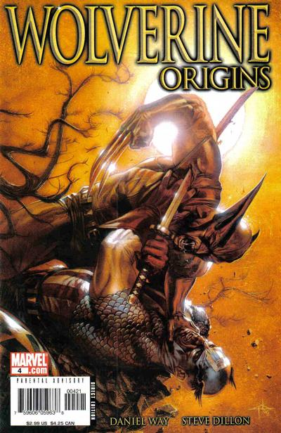 Cover for Wolverine: Origins (2006 series) #4 [Dell'Otto Cover]