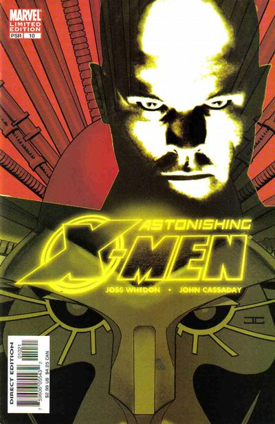 Cover for Astonishing X-Men (Marvel, 2004 series) #10 [Direct Edition]