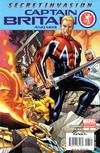 Cover for Captain Britain and MI: 13 (Marvel, 2008 series) #3 [Second Printing]