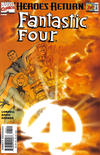 Cover Thumbnail for Fantastic Four (1998 series) #1 [Sunburst variant]