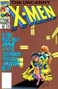 Cover for The Uncanny X-Men (Marvel, 1981 series) #303 [Direct Edition]
