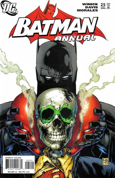 Cover for Batman Annual (2006 series) #25 [First Printing]