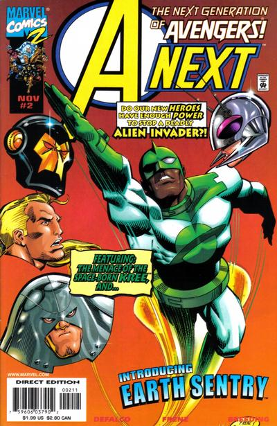 Cover for A-Next (Marvel, 1998 series) #2 [Cover A]