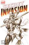 Cover Thumbnail for Secret Invasion (2008 series) #2 [Third Printing Variant Cover]