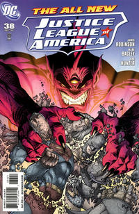 Cover Thumbnail for Justice League of America (DC, 2006 series) #38 [Andy Kubert Variant Cover]