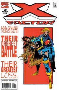 Cover Thumbnail for X-Factor (Marvel, 1986 series) #100 [Standard Cover]