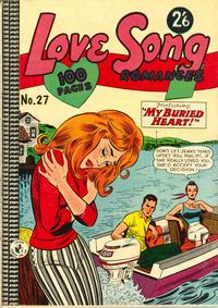 Cover Thumbnail for Love Song Romances (K. G. Murray, 1959 ? series) #27