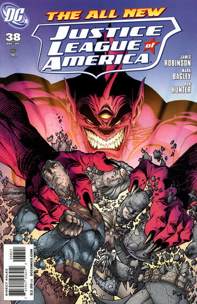 Cover for Justice League of America (DC, 2006 series) #38 [Standard Cover]
