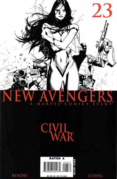 Cover for New Avengers (2005 series) #23