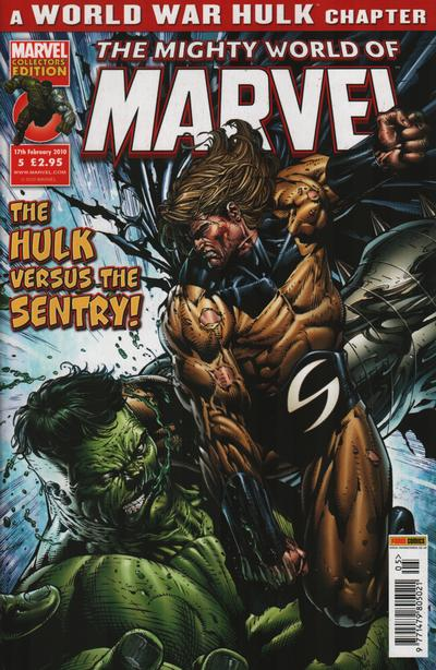 Cover for The Mighty World of Marvel (2009 series) #5