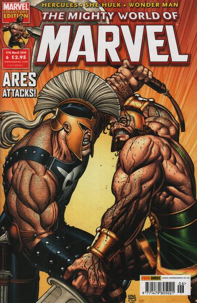 Cover for The Mighty World of Marvel (Panini UK, 2009 series) #6