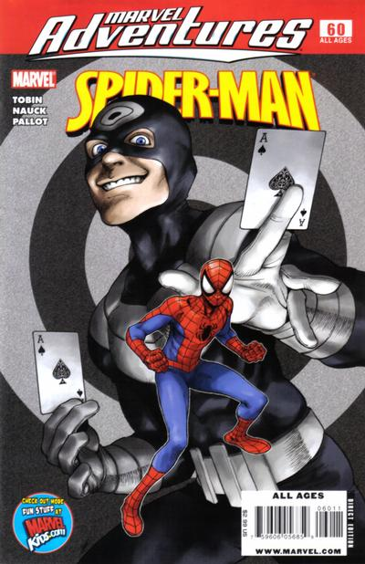 Cover for Marvel Adventures Spider-Man (2005 series) #60