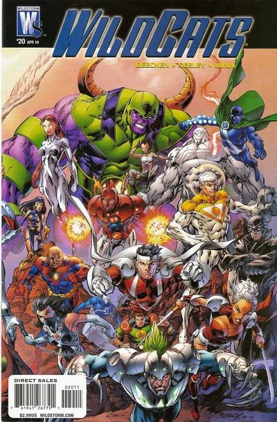 Cover for Wildcats (DC, 2008 series) #20