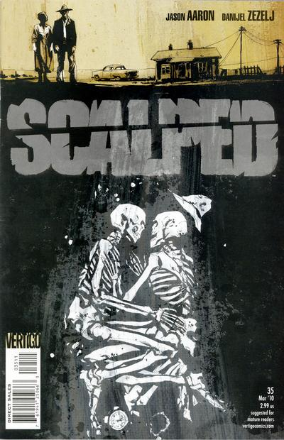 Cover for Scalped (2007 series) #35