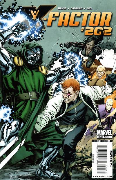 Cover for X-Factor (Marvel, 2006 series) #202
