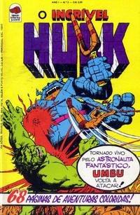 Cover Thumbnail for O Incrível Hulk (Editora Bloch, 1975 series) #5