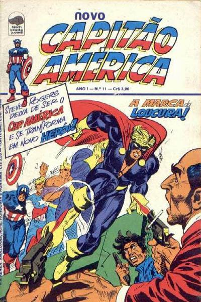 Cover for Capitão América (Editora Bloch, 1975 series) #11