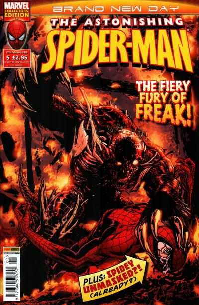 Cover for Astonishing Spider-Man (Panini UK, 2009 series) #5