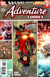 Cover Thumbnail for Adventure Comics (DC, 2009 series) #3 / 506 [Variant Cover (1 in 10)]