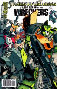 Cover Thumbnail for Transformers: Last Stand of the Wreckers (IDW Publishing, 2010 series) #1 [Cover A]