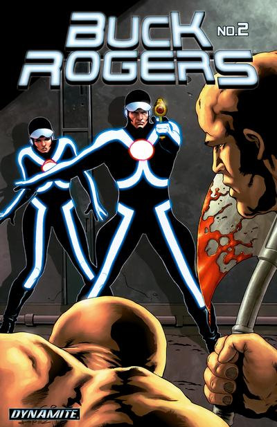 Cover for Buck Rogers (2009 series) #2 [Carlos Rafael Cover]