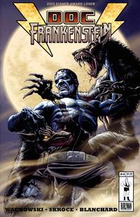 Cover for Doc Frankenstein (Burlyman Entertainment, 2004 series) #4 [Regular Cover]
