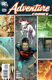 Cover Thumbnail for Adventure Comics (DC, 2009 series) #6 / 509 [Variant Cover (1 in 10)]