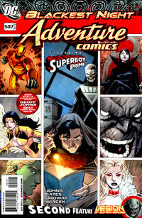 Cover Thumbnail for Adventure Comics (DC, 2009 series) #4 / 507 [Variant Cover (1 in 10)]