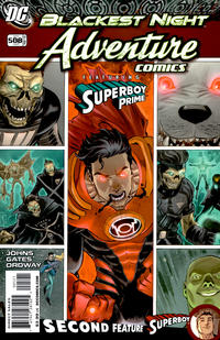 Cover Thumbnail for Adventure Comics (DC, 2009 series) #5 / 508 [Variant Cover (1 in 10)]
