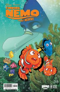 Cover Thumbnail for Finding Nemo: Reef Rescue (Boom! Studios, 2009 series) #2 [Cover B]