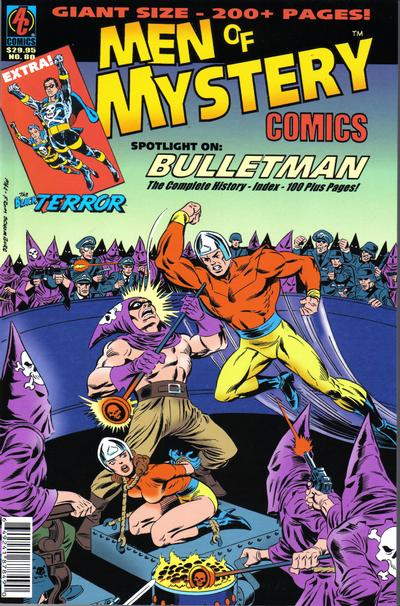 Cover for Men of Mystery Comics (AC, 1999 series) #80