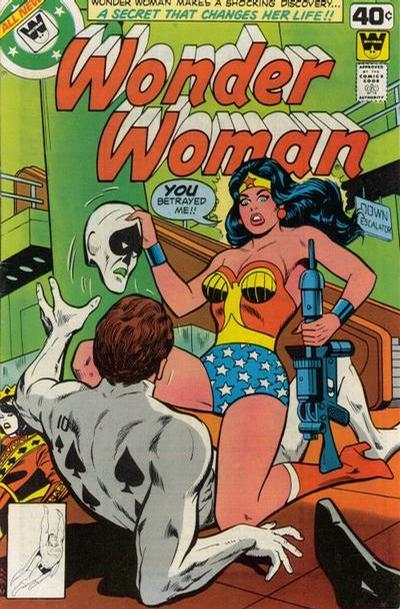 Cover for Wonder Woman (DC, 1942 series) #256 [Whitman cover]