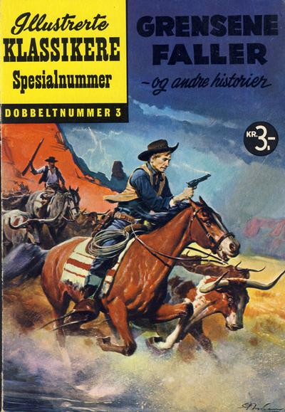 Cover for Illustrerte Klassikere Spesialnummer (1959 series) #3