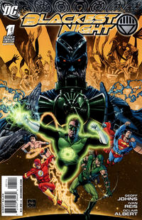 Cover Thumbnail for Blackest Night (DC, 2009 series) #1 [Fourth Printing]