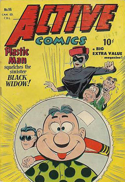 Cover for Active Comics (Bell Features, 1942 series) #96