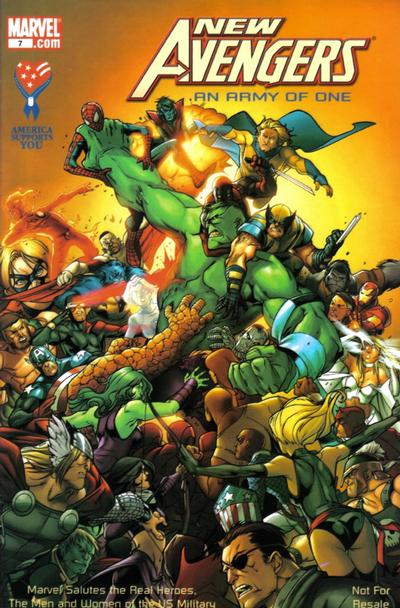 Cover for AAFES 7th Edition [New Avengers: An Army of One] (Marvel, 2009 series)