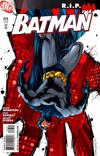 Cover for Batman (1940 series) #676 [Direct]