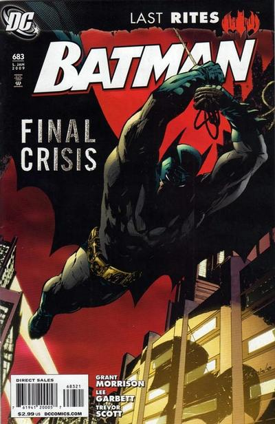 Cover for Batman (DC, 1940 series) #683 [Standard Cover]