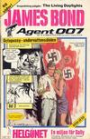 Cover for James Bond (Semic, 1965 series) #12/1986