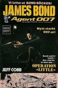 Cover Thumbnail for James Bond (Semic, 1965 series) #2/1984