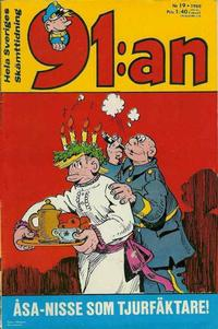 Cover Thumbnail for 91:an (Semic, 1965 ? series) #19/1968